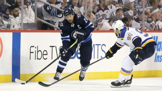 NHL Playoffs 2019: Jets' Blake Wheeler uses colorful language with press after loss to Blues