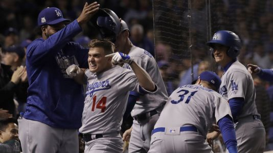 Los Angeles Dodgers Take National League Pennant, Beating Chicago Cubs 11-1