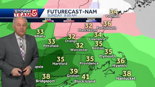Video: Chilly night, stormy end to weekend