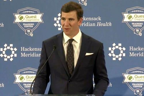Eli Manning saying goodbye to Giants 'my way' in emotional retirement press conference