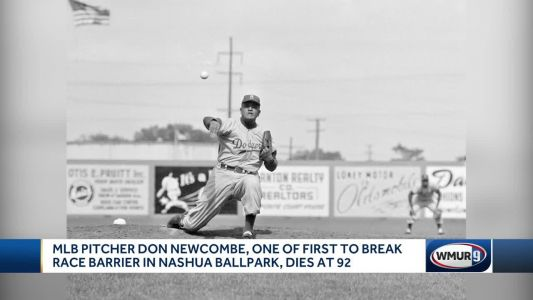 Major League Baseball pitcher Don Newcombe dies at 92