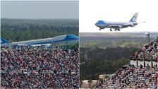 Trump Campaign Manager Brad Parscale Tweets Photo Of Big Crowd Near Air Force One - From 2004