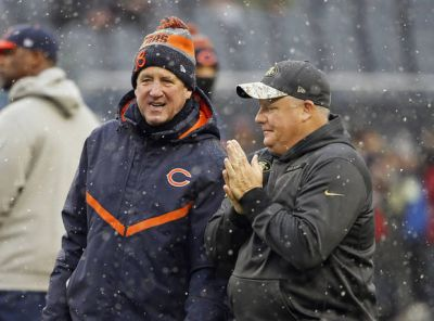 The Latest: Bears rookie Floyd back from injury