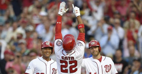Nats' Soto, MLB's youngest player at 19, homers in 1st start