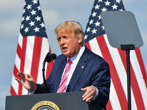 With the election 8 days away, Trump lies about why coronavirus rates are hitting record highs and calls the media 'losers' for covering the surging pandemic