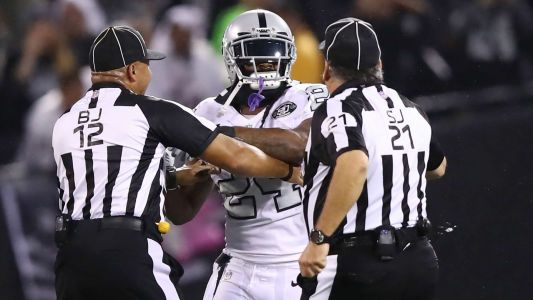 Marshawn Lynch suspended one game for contact with official