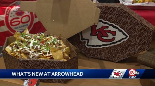 Chiefs unveil new menu items, update fan favorites ahead of Sunday's home opener