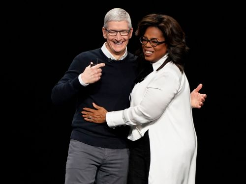 All the celebrities and big names in attendance at Apple's big March event