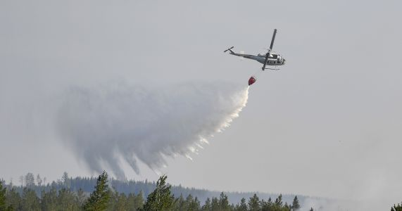 EU nations help Sweden as wildfires rage above Arctic Circle