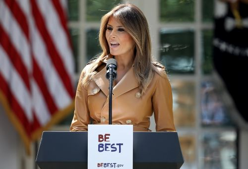 Melania Trump tackles 'destructive and harmful' effects of social media