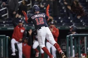 Kyle Schwarber homer lifts Nationals over Diamondbacks 1-0
