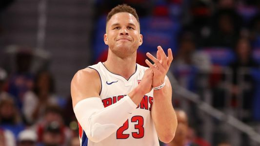 NBA wrap: Blake Griffin scores 50 points, Pistons edge 76ers in overtime thriller