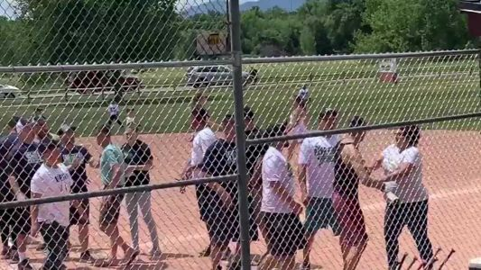 'It's the parents who have to grow up': Adults cited after brawl at children's baseball game
