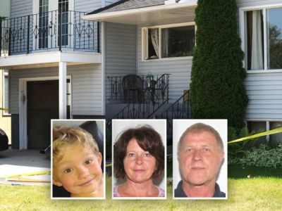 Charges laid in jail assault on man who killed Calgary couple and grandchild