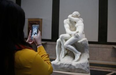 Philadelphia's Rodin Museum fetes sculptor with passion-themed installation