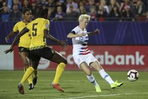 Megan Rapinoe sees disparity as World Cup approaches