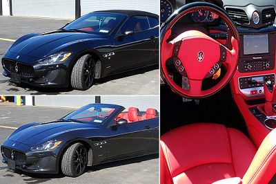 Seized low-mileage Maserati could be yours for real cheap