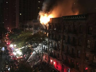 NYC apartment building fire leaves 1 dead, 12 others hurt