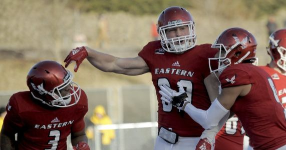 Eastern Washington rolls over Maine to reach FCS title game