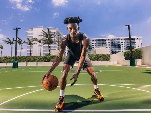 NBA superstar Jimmy Butler explains how he selects which brands to partner with as he signs a new multiyear deal with men's performance-lifestyle brand Rhone