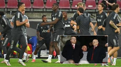 Paying the price: Man Utd 'lose out on £200 million training kit deal' after sponsors run scared over protests against US owners