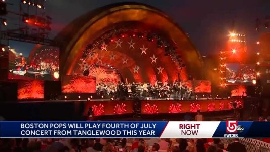 Pops move 4th of July concert to Tanglewood