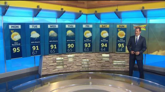 Summer cool off set to begin any day now