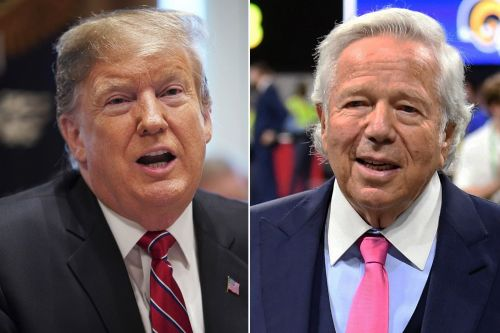 Trump wants Kraft to celebrate SB win at White House despite prostitution bust