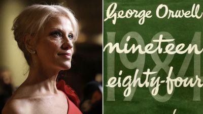 Trump-speak? Orwell's '1984' hits Amazon's bestseller list after Conway's 'alternative facts'