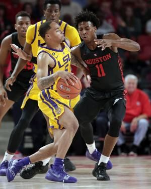 Robinson, Brooks rally No. 24 Houston past LSU, 82-76