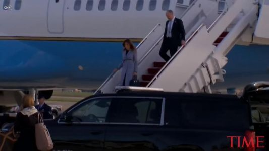 Melania Trump visits babies, moms affected by opioid crisis in Pennsylvania