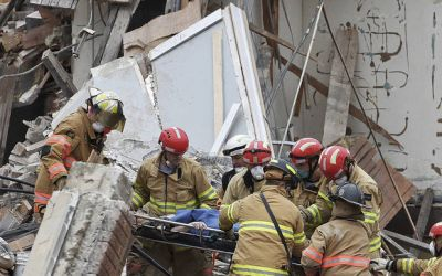 Missing man's body found in collapsed South Dakota building