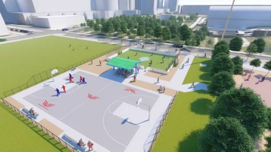 Soccer field, basketball court planned for former Stage Center site in downtown Oklahoma City