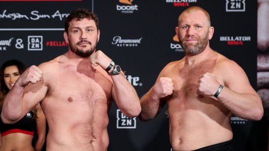 Bellator 215 results: Main event ends in no-contest after Matt Mitrione's inadvertent low-blow kick