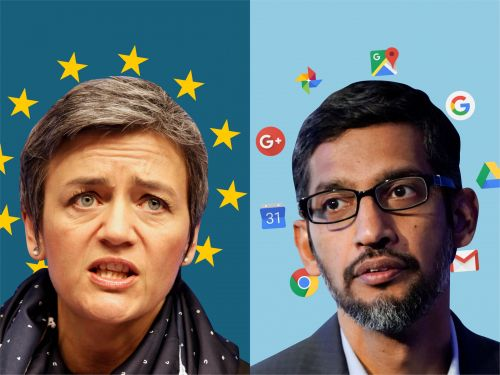 Google has been fined a record $5 billion by the EU
