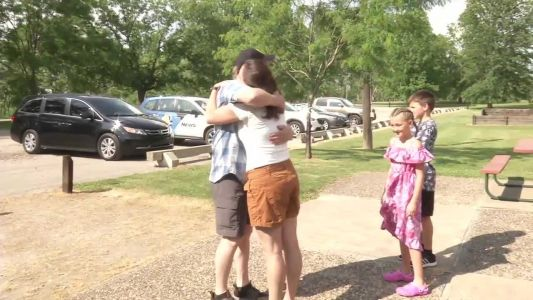 Iowan meets Utah man who she donated her kidney to