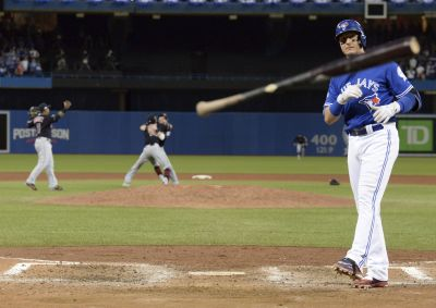 Blue Jays bats go silent against Indians in ALCS