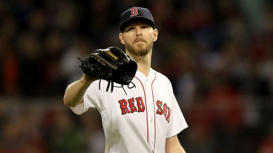 Red Sox extend pitcher Chris Sale through 2024, report says