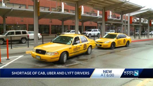 Rideshare, cab shortages leave Iowa travelers stranded
