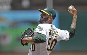 Fiers, A's send Mariners to 5th straight loss, 6-5