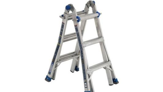Recall announced for 5 types of ladders sold at Home Depot, Lowe's