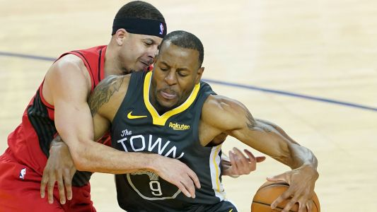 Andre Iguodala injury update: Warriors swingman questionable for Game 4 at Portland