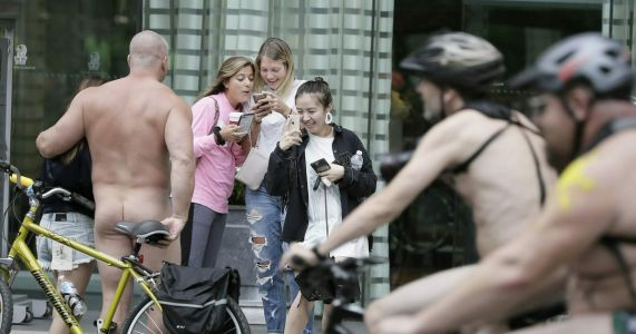 Philly chilly in September, so nude bike ride set for August
