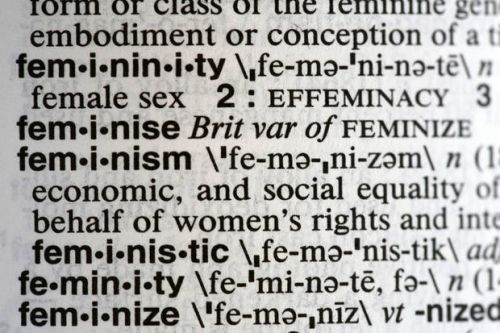 Merriam-Webster's word of the year for 2017: 'Feminism'