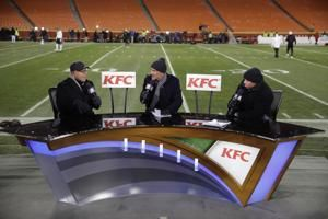 Tirico, Dungy, Harrison set to call Falcons-Saints