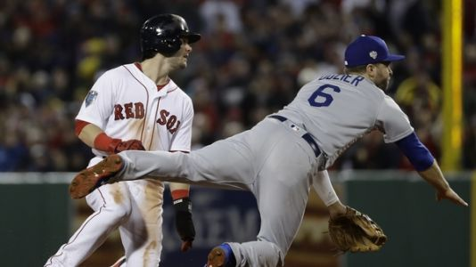 Red Sox Take Advantage Of Dodgers' Bullpen In World Series Clash Of Goliaths