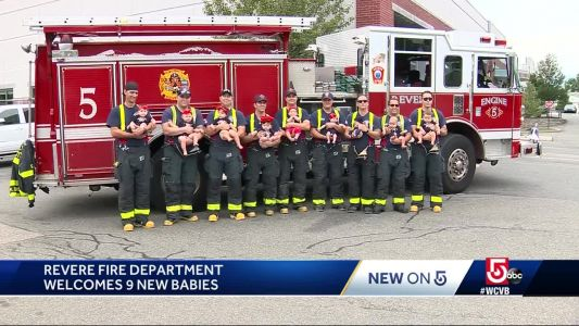 It's a baby boom at the Revere Fire Dept.!
