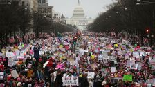 National Archives Blurred Out Anti-Trump Messages In Women's March Photo
