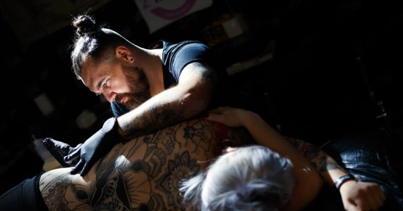 Get out the needle: Tattoo artists show off their skills