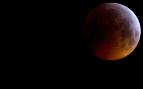 Officer ran over pair lying in road to watch lunar eclipse, says police